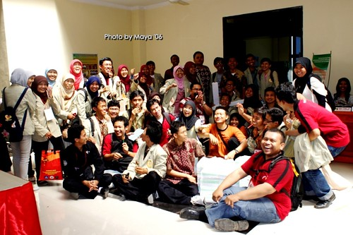 pimnas with anak UGM ^^