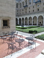 Courtyard chairs