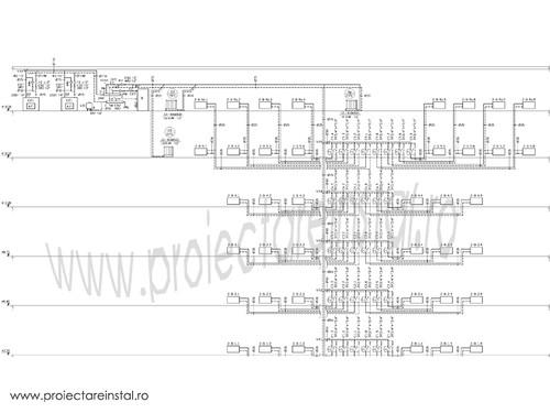 schema instalatii termice