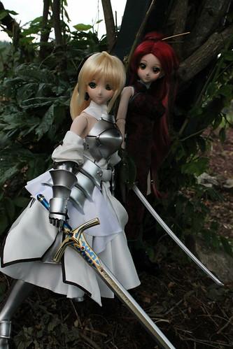 Saber Lily and Yoko (alpha)