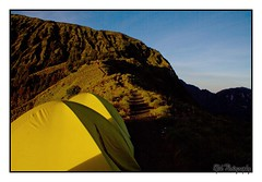 Beautiful surroundings of Mount Rinjani