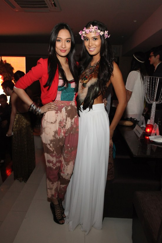 Bea Soriano and Isabelle Daza