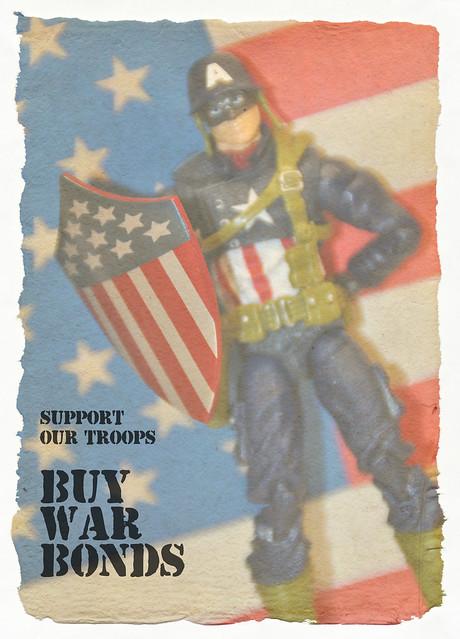 Captain America War Bonds poster