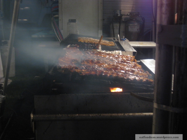 Ribs Grilling