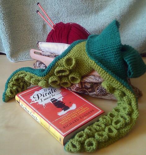 Tentacle scarf!