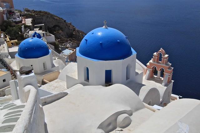Église, Santorin, Grèce