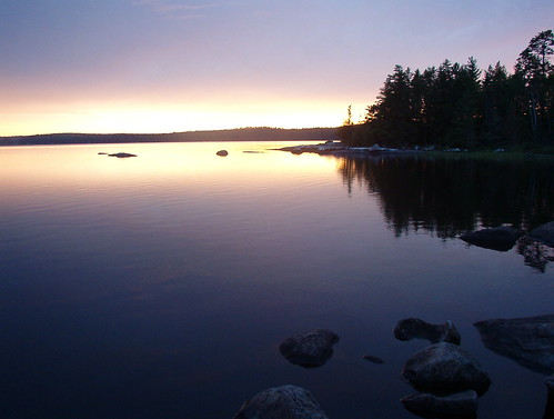Yet another Boundary Waters sunset