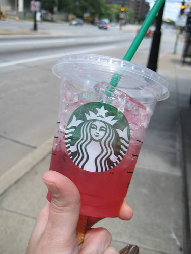 Starbucks Shaken Iced Passion Tea Lemonade