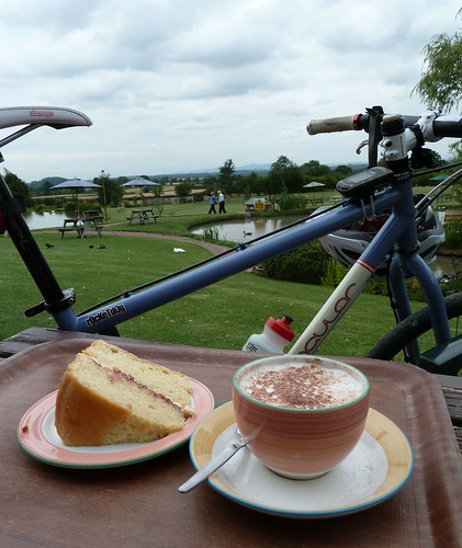the pre Tour cake ride by rOcKeTdOgUk