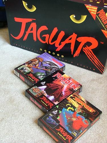 Atari Jaguar and games