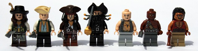The Lego Count of Minifigs