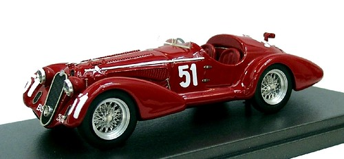 Alfa Model 43 8C 2900 Touring Targa Florio 1948
