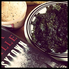 Lunch (Kale Chips and Embassytown)