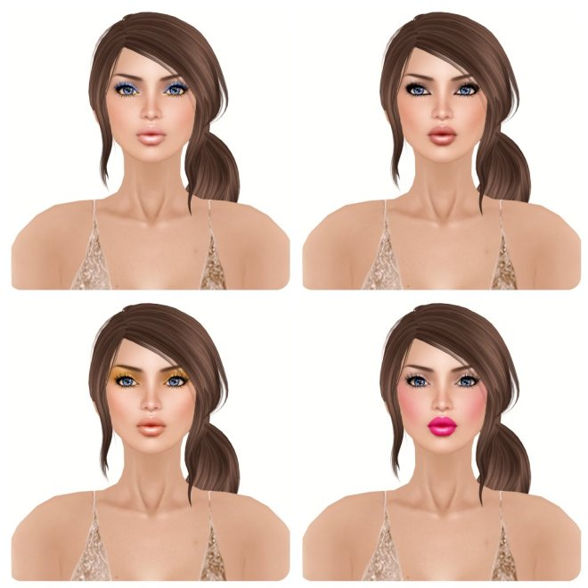 -Glam Affair- Amelie - Natural - 01 02 03 04