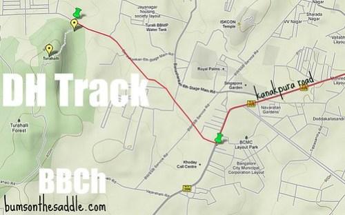 Turahalli DH track