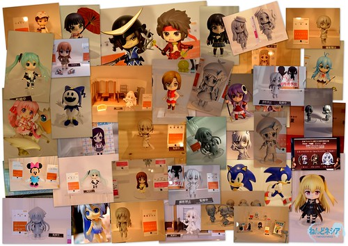 Nendoroid photo collage from Summer WonFes 2011