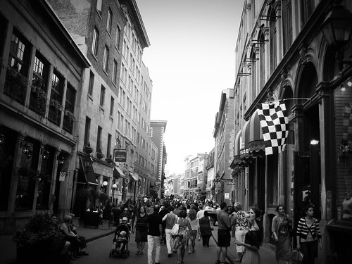 old montreal B & W