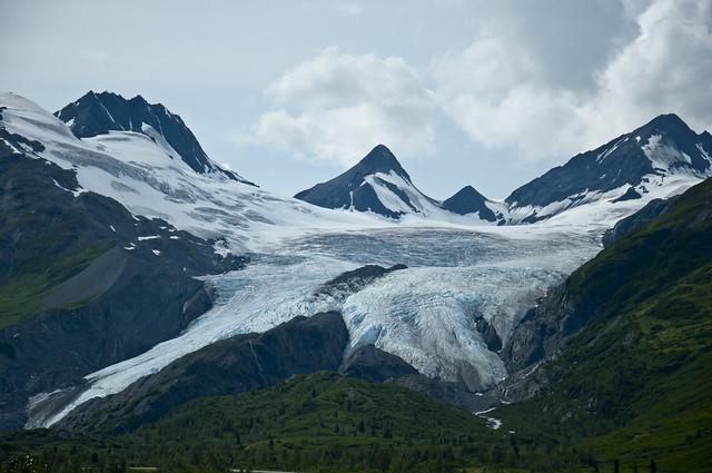 Worthington Glacier Overview