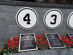 Lou Gehrig and Babe Ruth's Monuments