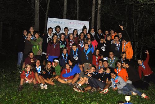 Campaments Castellar de n'Hug 2011 - foto de grup