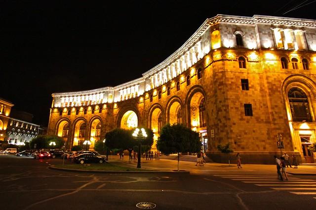 Place de la République, Erevan, Arménie