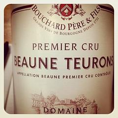 2009 Beaune Teurons 1er Cru, Bouchard Pere et Fils