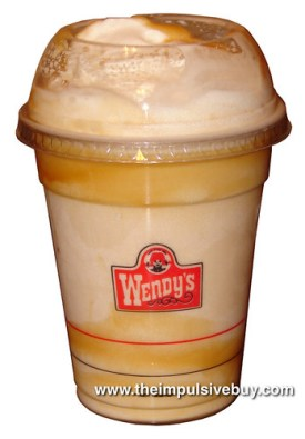Wendy's Caramel Frosty Shake