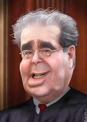 Antonin Scalia - Caricature
