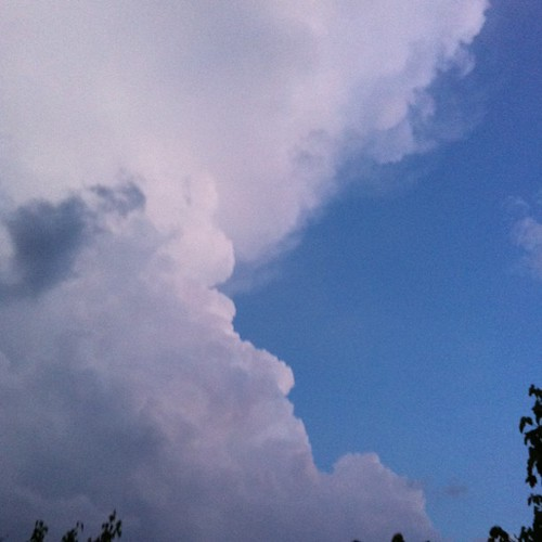 Great cloud, right after a big fast rain