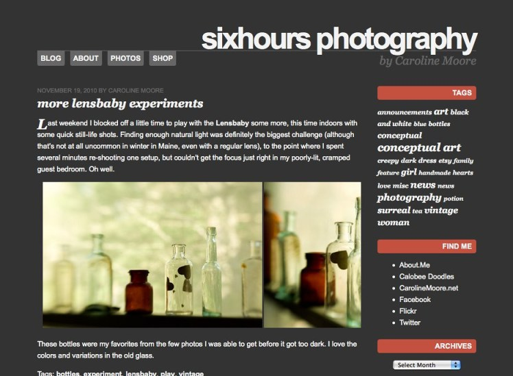 wordpress theme - sixhours