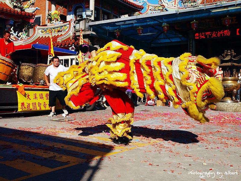 大溪文藝季:舞獅