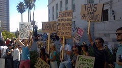 #OccupyLA protest