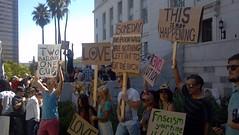 #OccupyLA protest