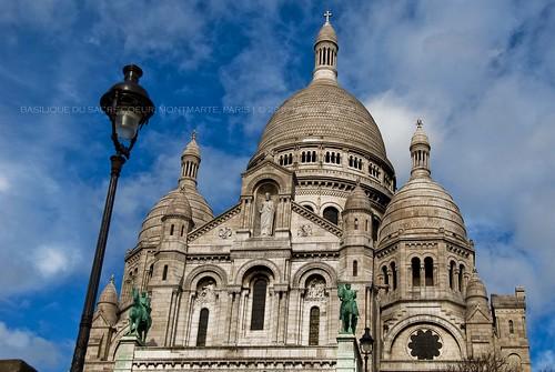 Basilique du Sacre-Coeur, Montmarte