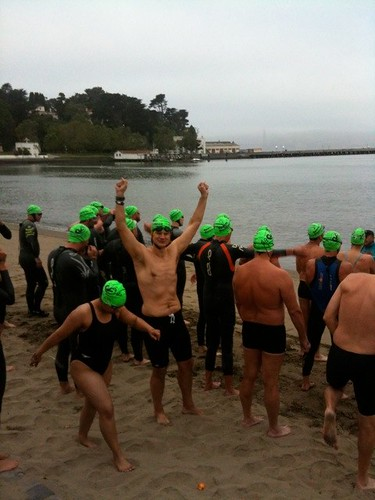 Pete Dickinson Alcatraz Swim
