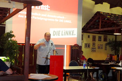 Klaus Ernst in Dresden zum neuen Programm der ...