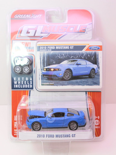 gl muscle 2010 ford mustang gt blue