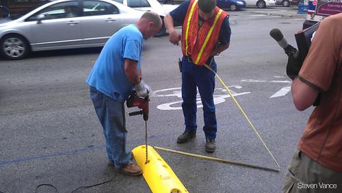 Installing the Tuff Curb