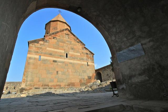 Entrée de Khor Virap, Arménie