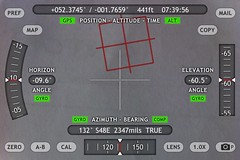 Theodolite camera Ap for the iPhone