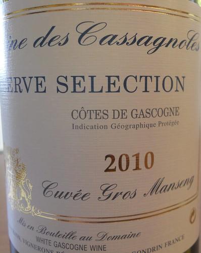 Cassagnoles Gros Manseng