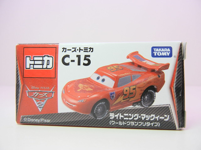 disney cars 2 tomica c-15 lightning mcqueen (1)