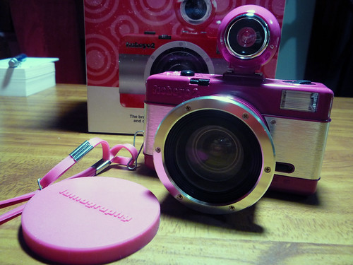 Pink Fisheye No. 2 005