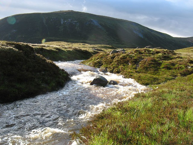 Tomintoul to Glenmore: Linn of Avon to Fords of Avon