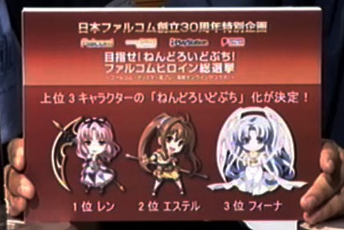 Nendoroid Petit design of the top three voted heroines