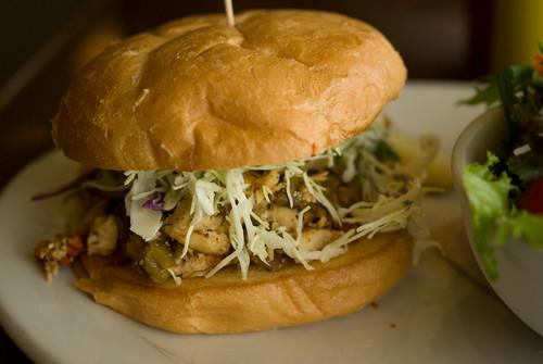 Ancho chicken sandwich