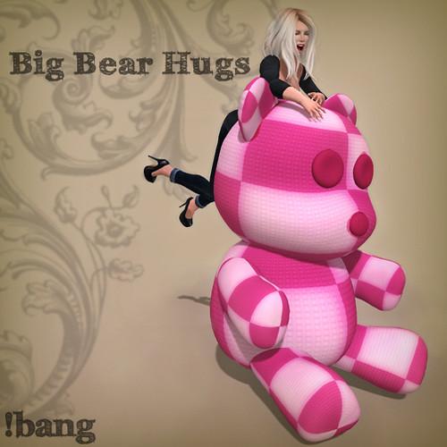 Big Bear Hugs - Gacha Prize Ad