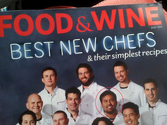 Food Wine: Best New Chef 2011, my friend RicardoZarate