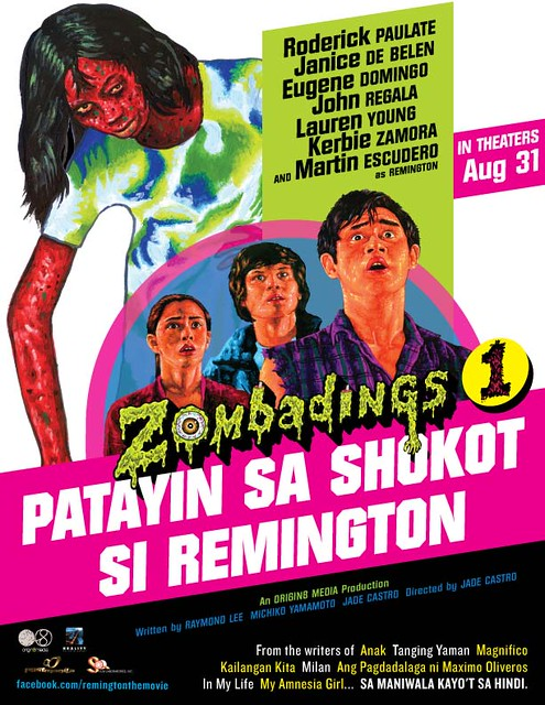 Zombadings poster