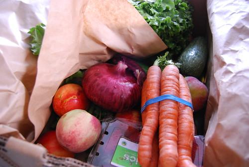 CSA box from Abundant Harvest
